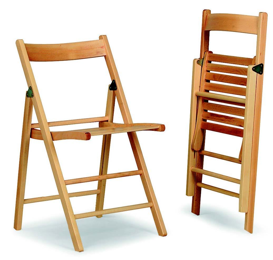 Sedia pieghevole in faggio biella galimberti sedie e tavoli for Galimberti sedie