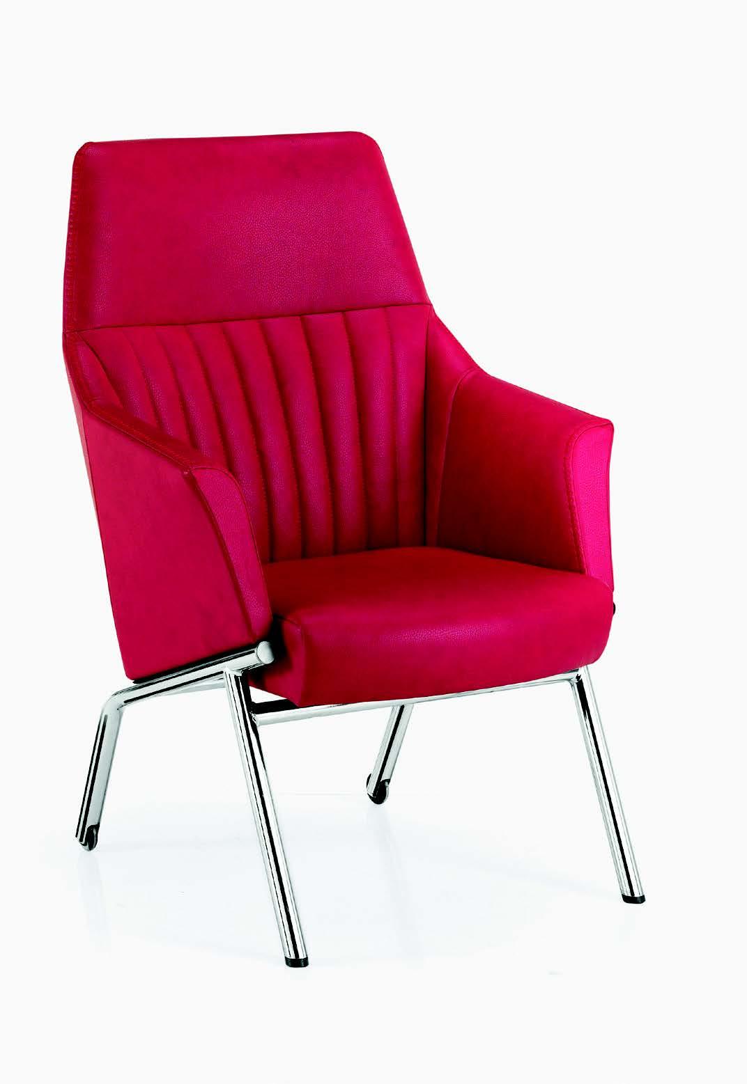 Poltrona ospiti strip alta galimberti sedie e tavoli for Galimberti sedie