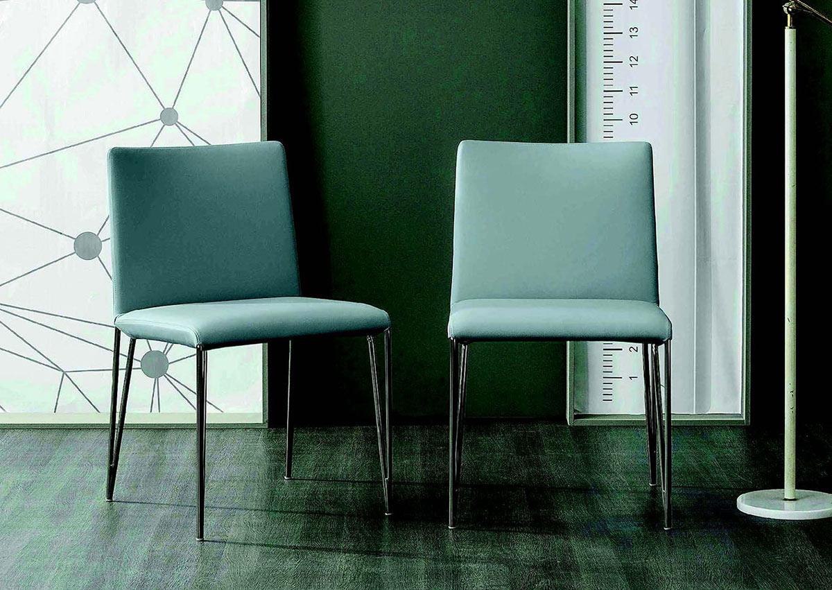 sedia con schienale alto Filly UP - gambe metallo - Galimberti Sedie ...