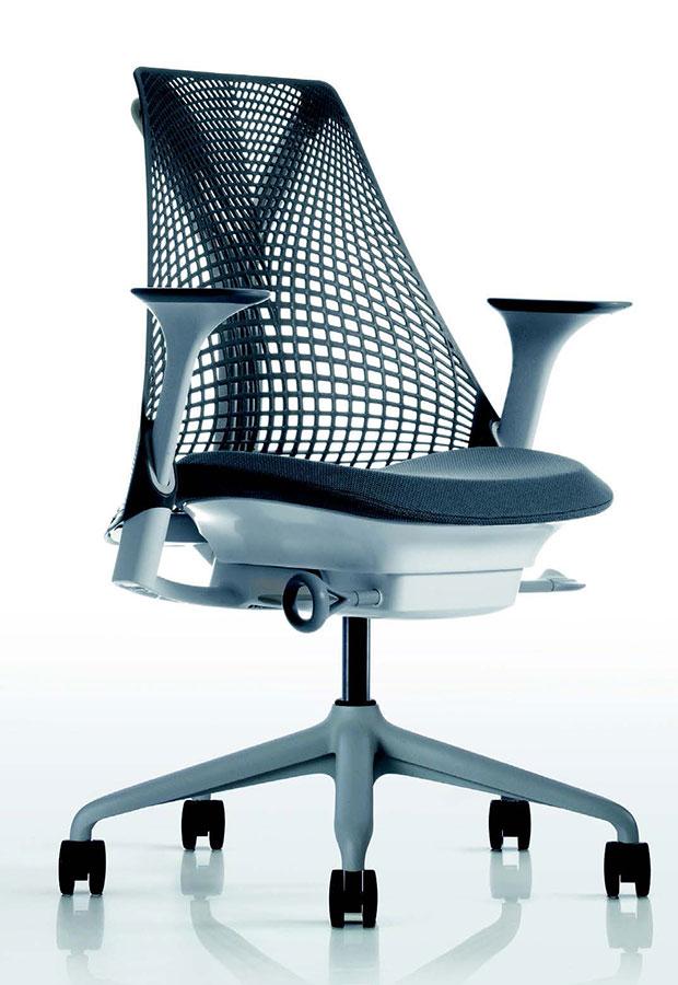 28750 poltrona con schienale in polipropilene sayl for Galimberti sedie
