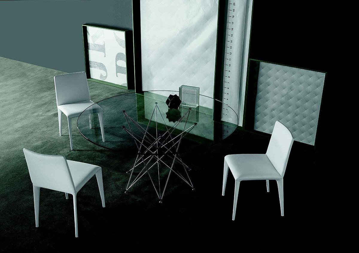 Sedia con schienale basso filly galimberti sedie e tavoli