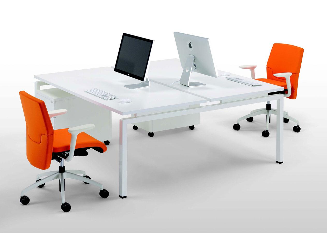 Scrivania Ufficio Doppia : Scrivania a due postazioni clip doppia galimberti sedie e tavoli