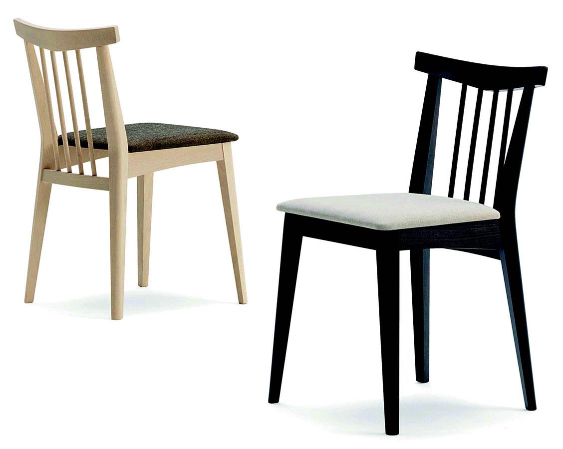 Sedia in faggio blues galimberti sedie e tavoli