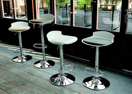 Sgabello con base in faggio move galimberti sedie e tavoli