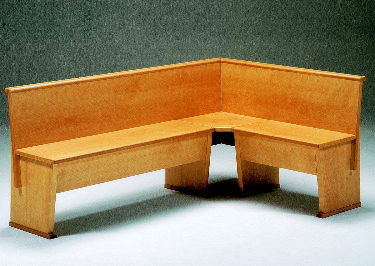 Cassapanca giropanca galimberti sedie e tavoli for Galimberti case legno
