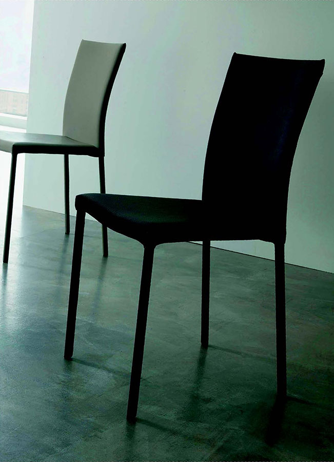 Sedia imbottita premier galimberti sedie e tavoli for Galimberti sedie