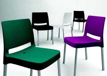 Sedia impilabile eva galimberti sedie e tavoli