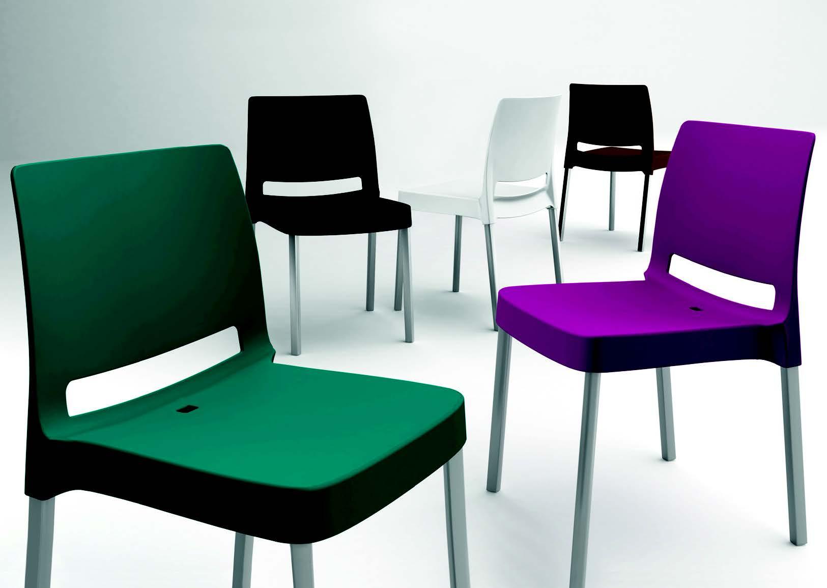 Sedia impilabile joi galimberti sedie e tavoli