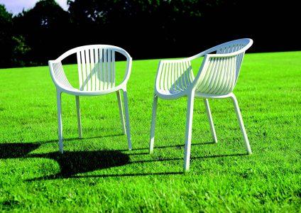 Poltroncina in policarbonato cyborg galimberti sedie e tavoli