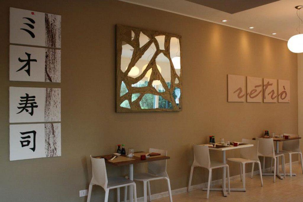 Design Per Ristoranti : Sedie e tavoli per ristorante mio sushi torri bianche vimercate