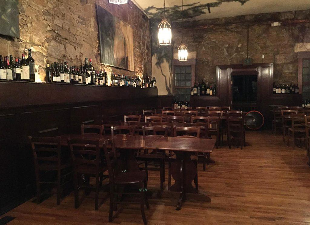 Fornitura Di Sedie E Tavoli Ristorante Telluride Colorado Usa